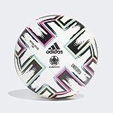 adidas UNIFO LGE Balón de Fútbol, Men's, White/Black/Signal Green/Bright Cyan, 5