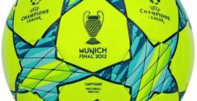 Balón de Champions Final Temporada 2011-2012