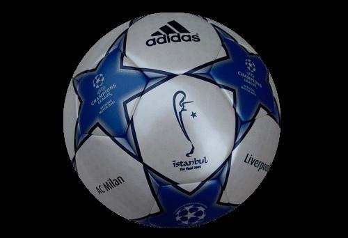 Balón de la Champions Final Estambul 2005