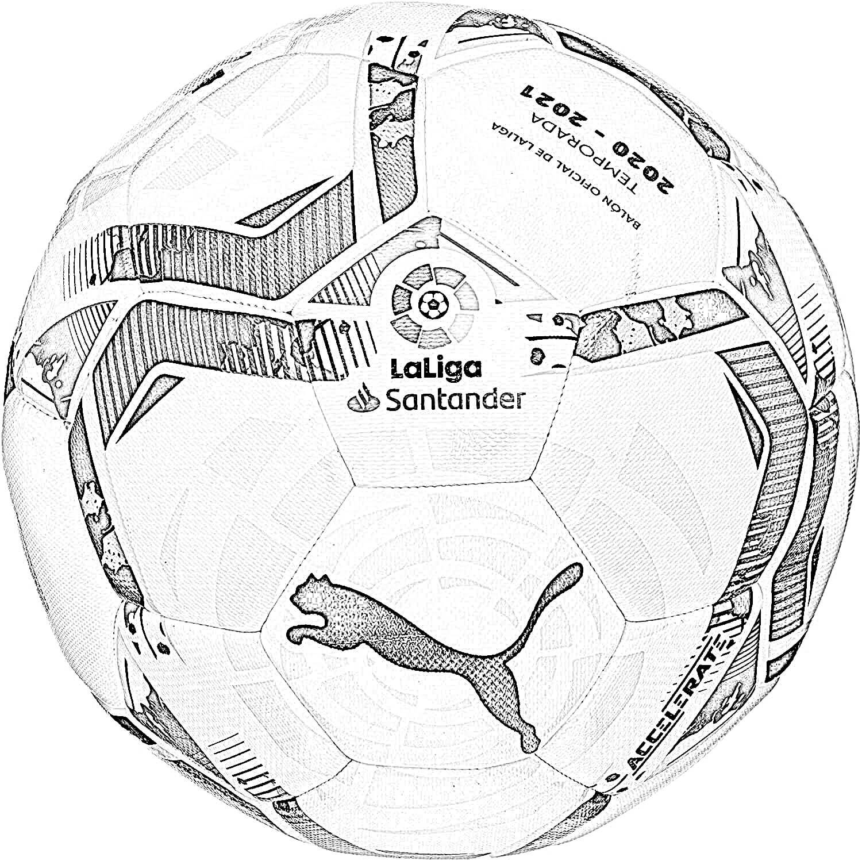 Dibujo Balón LaLiga 2020