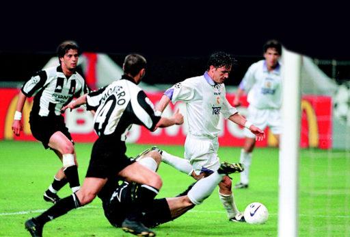 Gol Real Madrid final 1998 Champions League