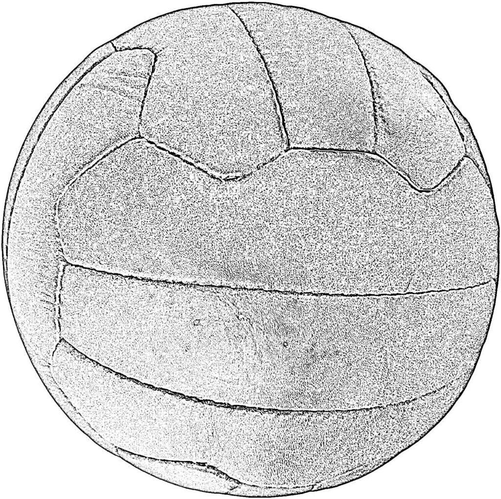 Pelota de Fútbol Dibujo